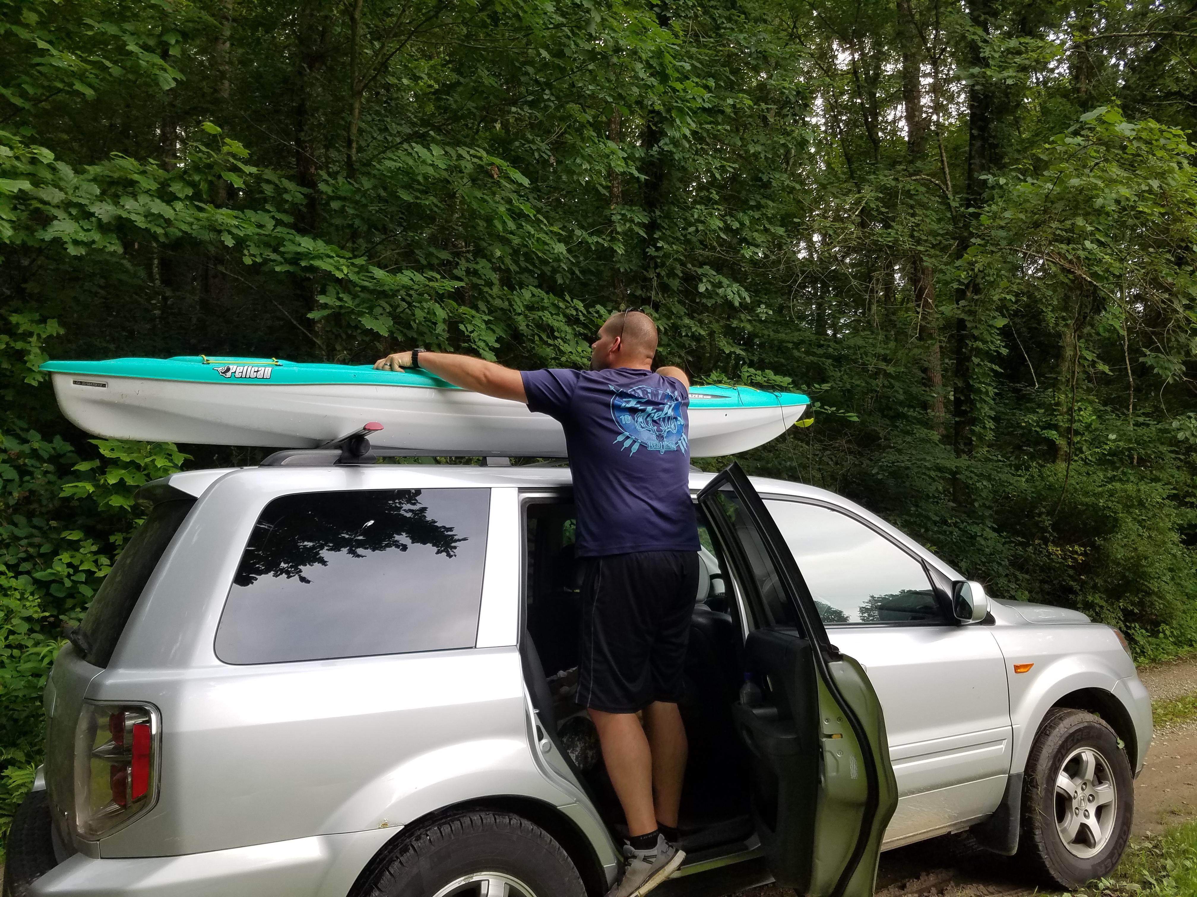 Tying Down Kayaks