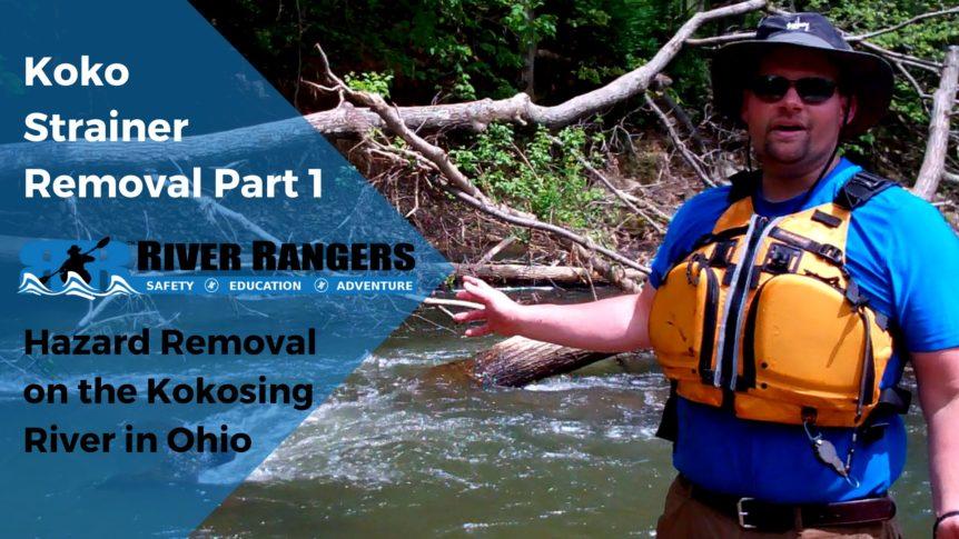 Kokosing River Strainer Part 1